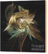 Abstract Bloom  Wood Print