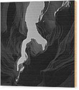 Abstract Canyon 2 Wood Print