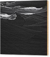 Abstract Canyon Wood Print