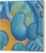 Abstract Color Study Wood Print