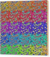 Abstract Colorful Art Print No.318. Wood Print by Drinka Mercep