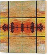 Abstract Cracker Tapestry Wood Print