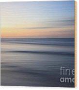 Abstract Cuban Sunset Wood Print