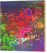 Abstract Cubed 2 Wood Print