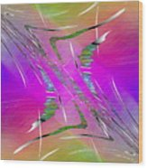 Abstract Cubed 223 Wood Print