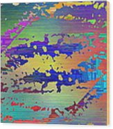 Abstract Cubed 99 Wood Print