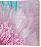 Abstract Daisy Wood Print