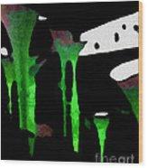 Green Sensation Wood Print