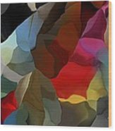 Abstract Distraction Wood Print