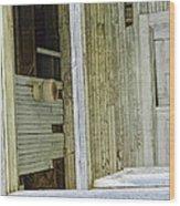 Abstract Doors Wood Print
