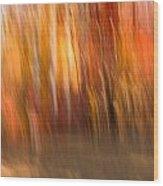 Abstract Fall 6 Wood Print