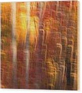 Abstract Fall 7 Wood Print