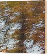 Abstract Fall 9 Wood Print