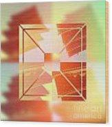 Abstract Five-storied Pagoda 1 Wood Print