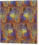 Abstract Fusion 142  Wood Print