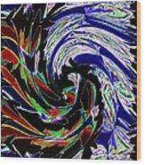 Abstract Fusion 161   Wood Print