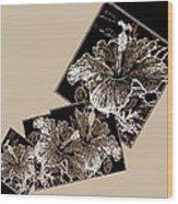 Abstract Fusion 169 Wood Print