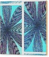 Abstract Fusion 170 Wood Print