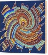 Abstract Fusion 176 Wood Print