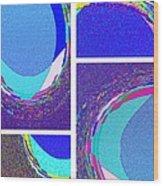 Abstract Fusion 178 Wood Print