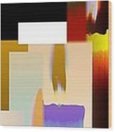 Abstract Fusion 185 Wood Print by Will Borden