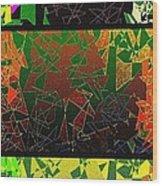 Abstract Fusion 193 Wood Print