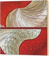 Abstract Fusion 218 Wood Print