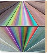 Abstract Fusion 242 Wood Print