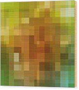 Abstract Geometric Background Wood Print