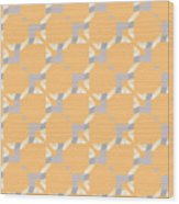 Abstract Geometric Pattern. Vector Wood Print