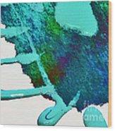 Abstract Gf 4 Wood Print