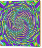 Abstract Hypnotic Wood Print by Kenny Francis