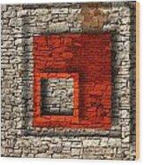 Abstract Istriana Wood Print