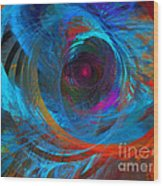 Abstract Jet Propeller Wood Print