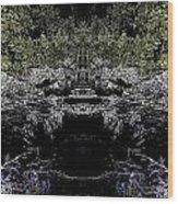Abstract Kingdom Wood Print
