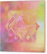 Abstract Maple Leaf Magic 3 Wood Print
