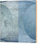 Abstract Metal 2 Wood Print