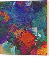 Abstract Mm No. 105 Wood Print