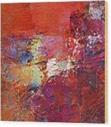 Abstract Mm No. 107 Wood Print