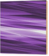Abstract Modern Purple  Background Wood Print by Somkiet Chanumporn