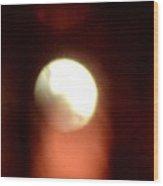 Abstract Moonlight Wood Print