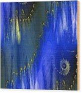 Abstract Nautilus Wood Print