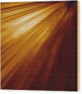 Abstract Night Acceleration Speed Motion  Wood Print