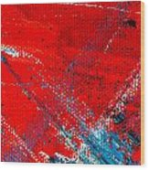Abstract Original Artwork One Hundred Phoenixes Untitled Number Five Wood Print