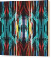 Abstract Pattern 3 Wood Print