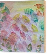 Abstract Petals Wood Print