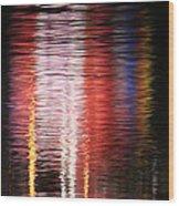Abstract Realism Wood Print
