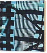 Abstract Reflection 13 Wood Print by Sarah Loft