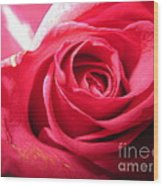 Abstract Rose 4 Wood Print