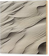 Abstract Sand 7 Wood Print by Arie Arik Chen